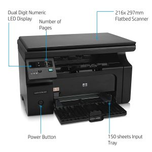 HP LaserJet Pro M1136 Multi-Function Monochrome Laser Printer (Black)