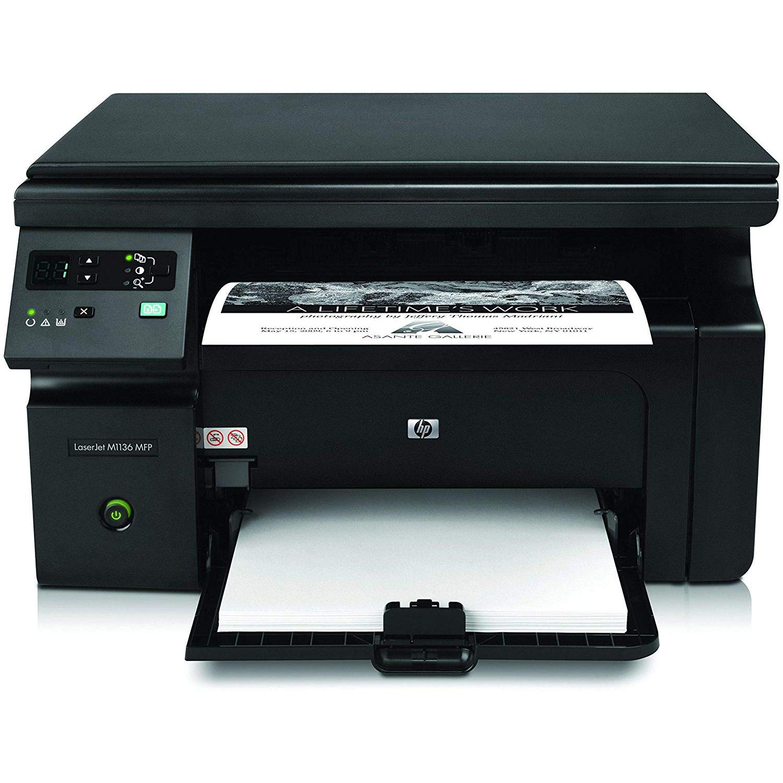 HP LaserJet Pro M1136 Multi-Function Monochrome Laser Printer (Black)