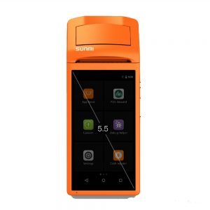 "Sunmi V1 5.5"" Android Handheld POS With Inbuilt Printer (58mm)"