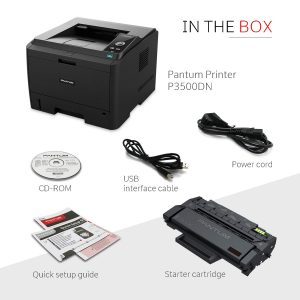Pantum P3500DN Auto Duplex Monochrome Single Function LaserJet Printer