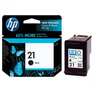 HP 21 Black Original Ink Cartridge (C9351AA) (OEM Pack)