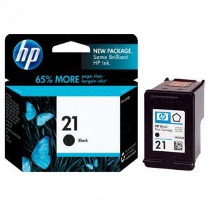 HP 21 Black Original Ink Cartridge (C9351AA) (OEM Pack)