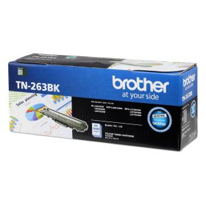Brother TN-263BK Black Original Toner Cartridge (Box Pack)