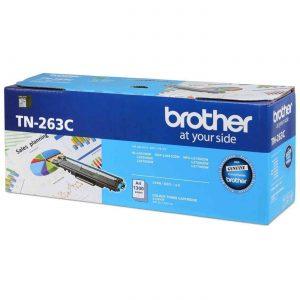 Brother TN-263C Cyan Original Toner Cartridge (Box Pack)