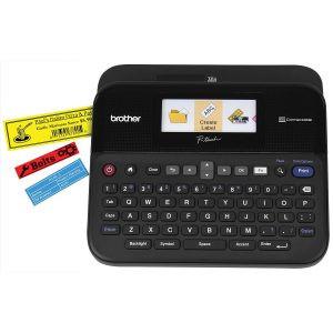 Brother PT-D600 P-Touch Label Printer With Full-Colour LCD Screen