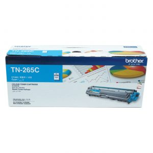 Brother TN-265C Cyan Original Toner Cartridge (Box Pack)