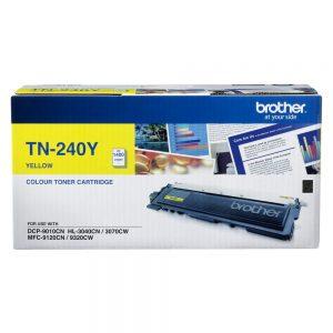 Brother TN-240Y Yellow Original Toner Cartridge (Box Pack)