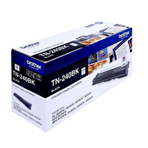 Brother TN-240BK Black Original Toner Cartridge (Box Pack)