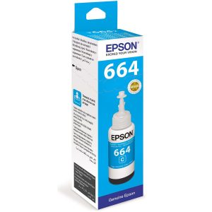 Epson 664 (6642) Cyan 70ML Genuine Ink Bottle