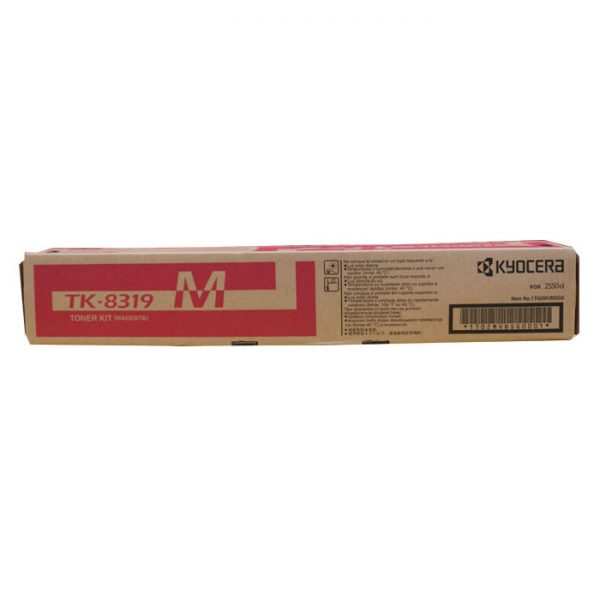 Kyocera TK-8319M Magenta Original Toner Cartridge (Box Pack)