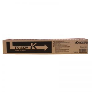 Kyocera TK-8329K Black Original Toner Cartridge (Box Pack)