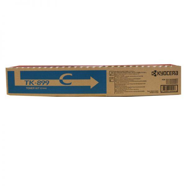 Kyocera TK-899C Cyan Original Toner Cartridge (Box Pack)