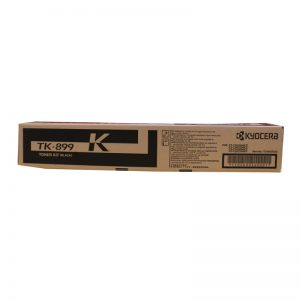 Kyocera TK-899K Black Original Toner Cartridge (Box Pack)