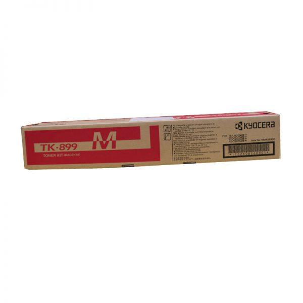 Kyocera TK-899M Magenta Original Toner Cartridge (Box Pack)