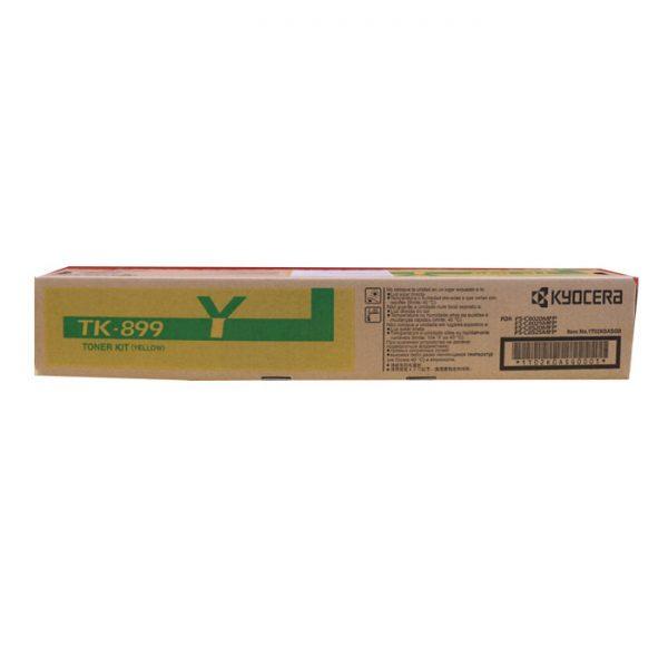 Kyocera TK-899Y Yellow Original Toner Cartridge (Box Pack)
