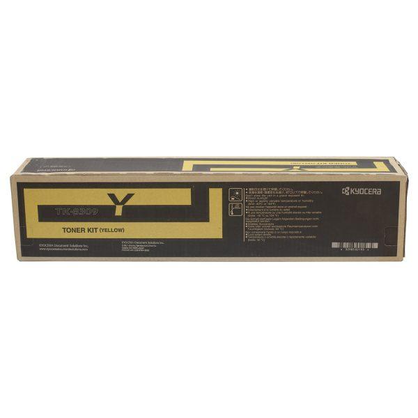 Kyocera TK-8309Y Yellow Original Toner Cartridge (Box Pack)
