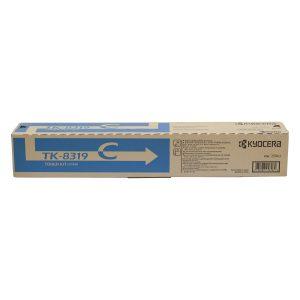 Kyocera TK-8319C Cyan Original Toner Cartridge (Box Pack)