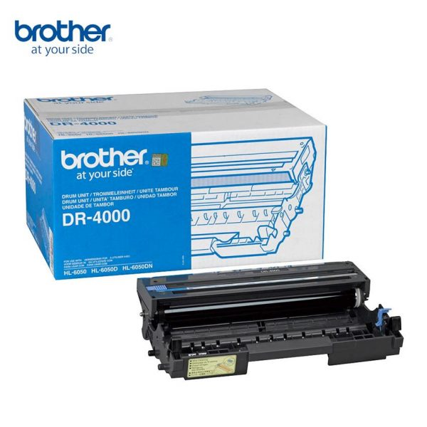 Brother DR-4000 Original Drum Unit (Box Pack)