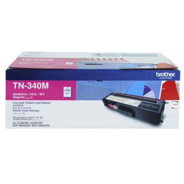 Brother TN-340M Magenta Original Toner Cartridge (Box Pack)