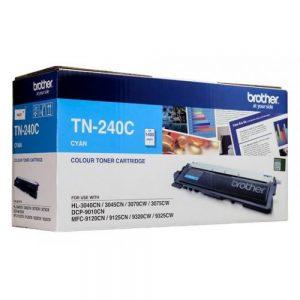 Brother TN-240C Cyan Original Toner Cartridge (Box Pack)