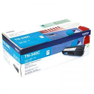 Brother TN-340C Cyan Original Toner Cartridge (Box Pack)
