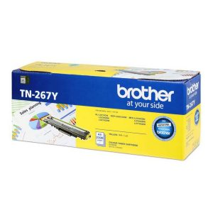 Brother TN-267Y Yellow Original Toner Cartridge (Box Pack)