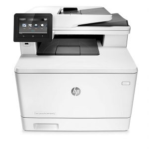 HP M477fnw Color LaserJet Pro Multi-Function Printer (CF377A)