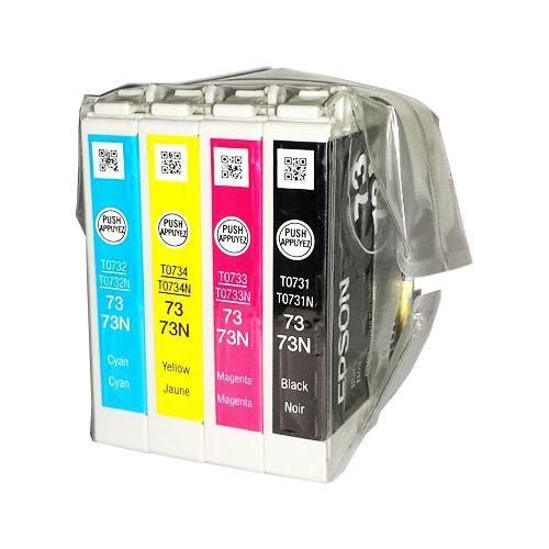 Epson 73 73N (T0731-T0734) Original Ink Cartridge Set (OEM Pack)