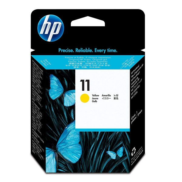HP 11 Yellow Print Head Ink Cartridge (C4813A)