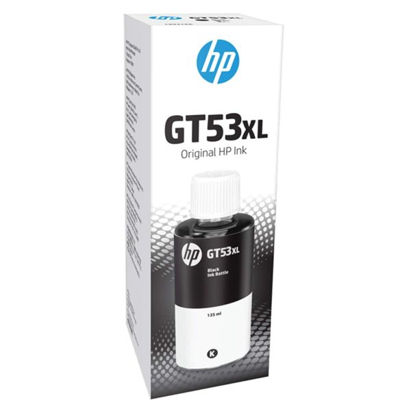 HP GT53XL Black 135ML Genuine Ink Bottle (1VV21AA)