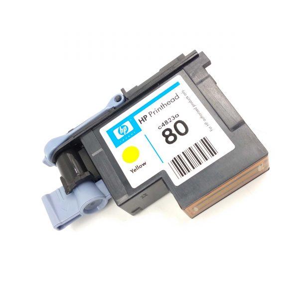Print Head HP 80 Yellow For HP Designjet 1000 1050C 1050C Plus 1055CM 1055CM Plus Printer (C4823A)