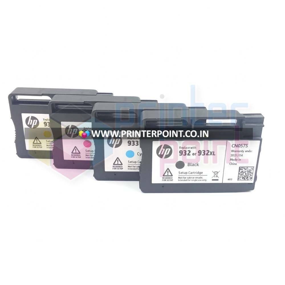 2-pack 932 black Ink Cartridges for HP Officejet 6100 6600 6700 7610 Printers