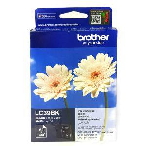 Brother LC39BK Black Original Ink Cartridge (Box Pack)