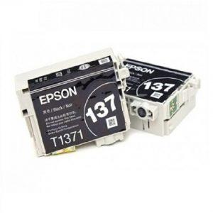 Epson 137 (T1371) Black Original Ink Cartridge (C13T137193) (OEM Pack)