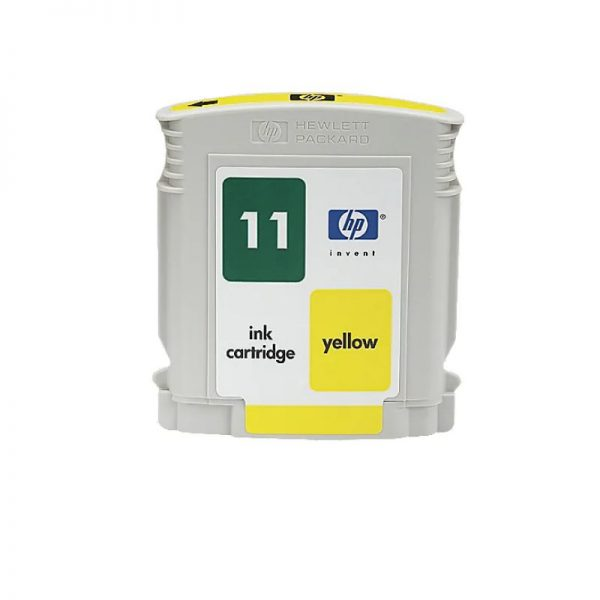 HP 11 Yellow Original Ink Cartridge Oem Pack (C4838A)