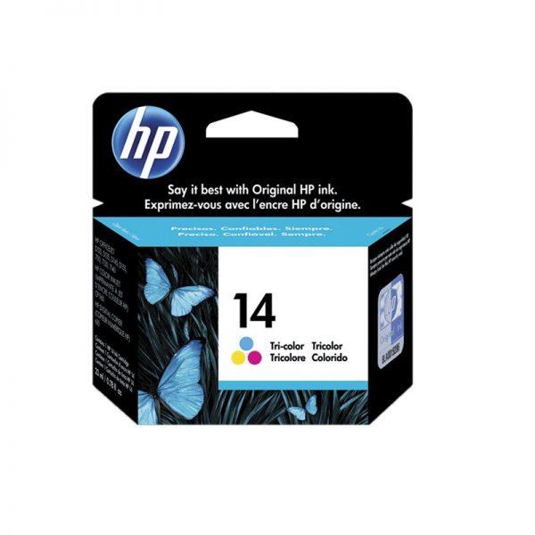 HP 14 Tri-Color Original Ink Cartridge Oem Pack (C5010D)