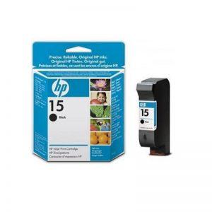 HP 15 Black Original Ink Cartridge Oem Pack (C6615D)