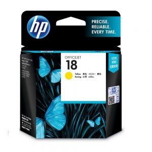 HP 18 Yellow Original Ink Cartridge Oem Pack (C4939A)