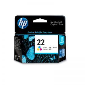 HP 22 Tri-color Original Ink Cartridge Oem Pack (C9352A)