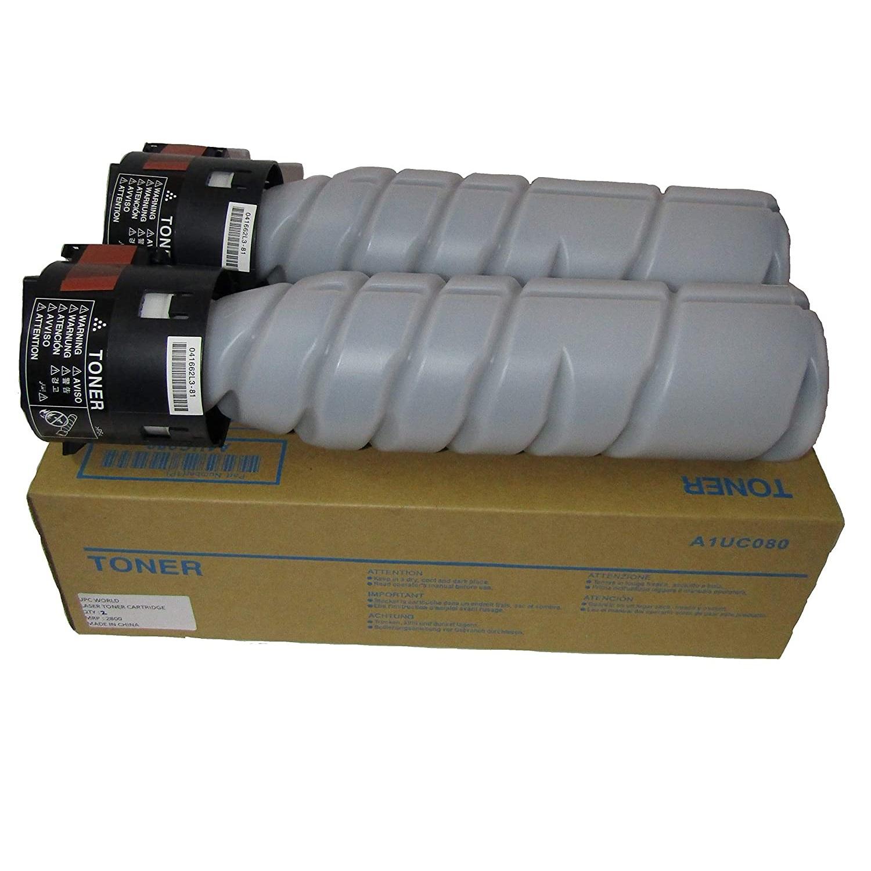 Konica Minolta TN-116H Black Original Toner Cartridge Set For Konica Minolta 164 165 184 185 195 215 Printer (A1UC080)