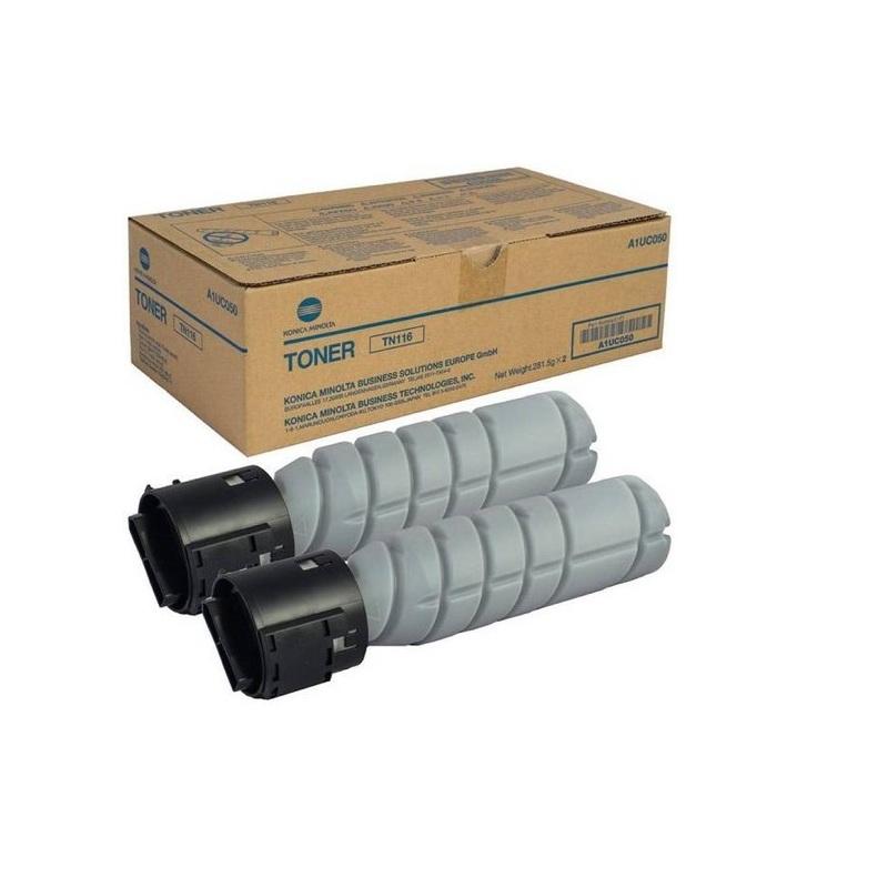 Konica Minolta TN-116 Black Original Toner Cartridge Set For Konica Minolta 164 165 184 185 195 215 Printer (CAE0006)