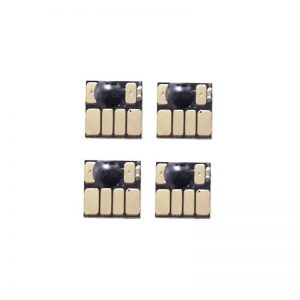 Chip ARC 82 (CP277-CP280) 4 Color Auto Reset Cartridge For HP Designjet 500 500PS 510 800 800PS 810 Printer