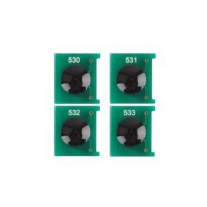 Chip Toner Reset CC530A CC531A CC532A CC533A For HP Color LaserJet CP2020 CP2025 CM2320 CM2320 Printer