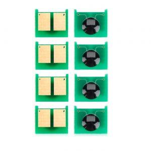 Chip Toner Reset CE264X CF030A CF031A CF032A CF033A 4 Color For HP Color LaserJet CM4540 4540f Printer