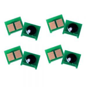 Chip Toner Reset CE400A CE401A CE402A CE403A 4 Color For HP Color LaserJet 500 M551 Printer