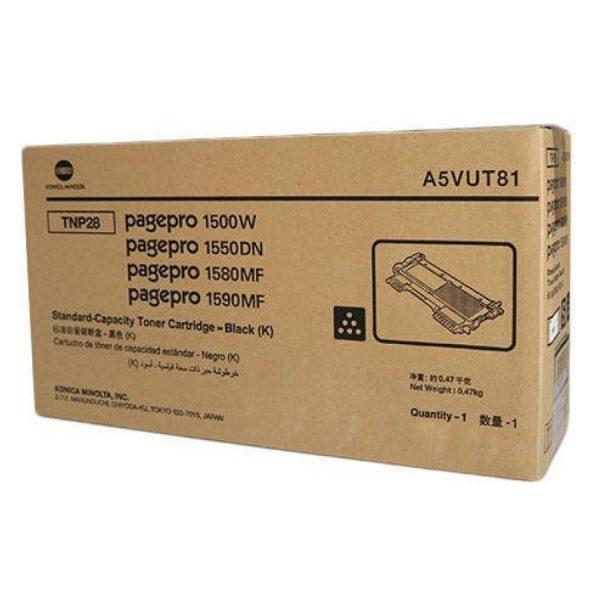 Konica Minolta TNP-28 Black Original Toner Cartridge (Box Pack)