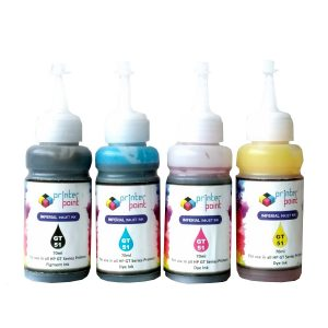 Max Black Cyan Magenta Yellow Photo Dye 4*70ML Compatible High Quality Ink Set For HP GT-Series Printer