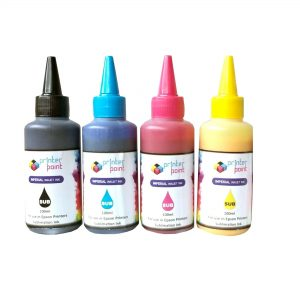 Max Black Cyan Magenta Yellow Sublimation 4*70ML Compatible High Quality Ink Set