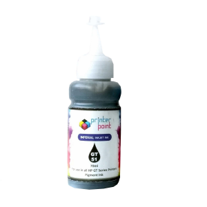 Max Black Photo Dye 70ML Compatible High Quality Ink For HP GT-Series Printer