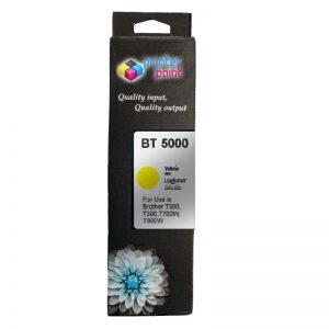 Max Yellow Photo Dye 50ML Compatible High Quality Ink For Brother DCP-T300 T500W T700W Printer